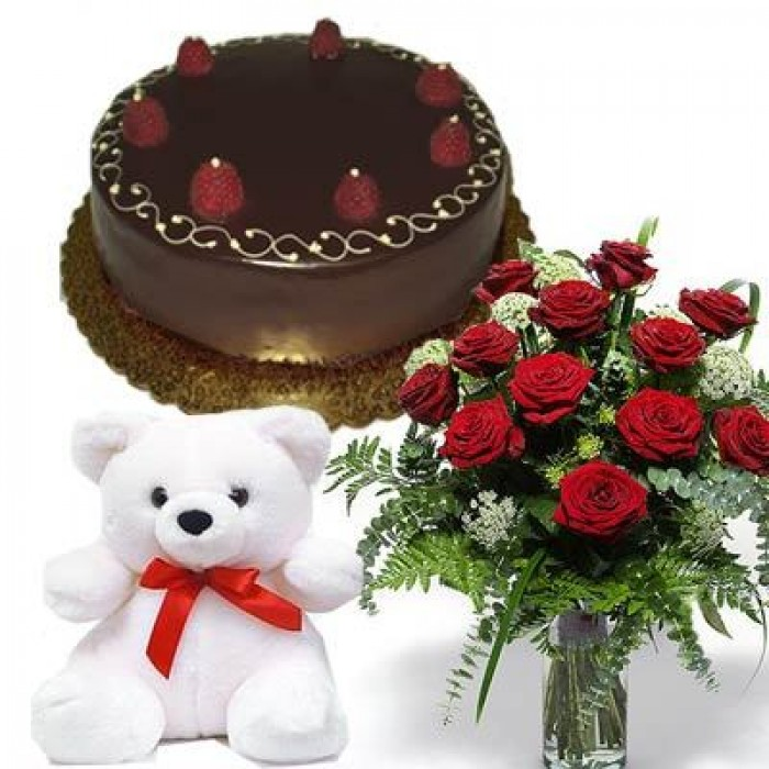 Send Cakes Flowers Gifts Chocolates Teddy Bear Dry Fruits